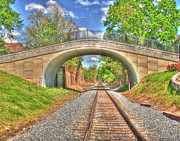 Edwards Digital Art - Culbert Train Tunnel by Rick Ward
