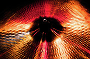Drum Metal Prints - Cymbal One Metal Print by Sam Hymas