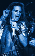 Ben Upham - David Lee Roth in Blue Spokane