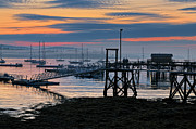 Thomas Schoeller - Dawn of A New Day - Maine Fishing Harbor