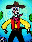 Pristine Cartera Turkus - Day Of The Dead Cowboy