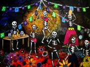 Pristine Cartera Turkus - Day Of The Dead Festival