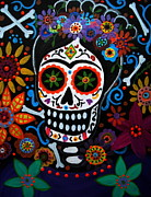 Pristine Cartera Turkus - Day Of The Dead Frida Kahlo Painting