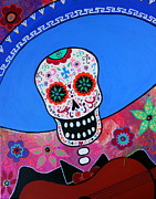Pristine Cartera Turkus - Day Of The Dead Mariachi