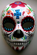 Pristine Cartera Turkus - Day Of The Dead Mask