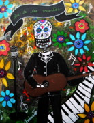 Pristine Cartera Turkus - Day Of The Dead Musician