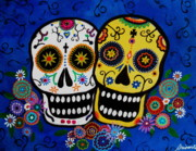 Pristine Cartera Turkus - Day Of The Dead Sugar