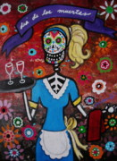 Pristine Cartera Turkus - Day Of The Dead Waitress