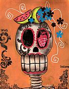 Abril Andrade Griffith - Day of the Dead Watermelon