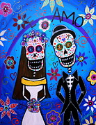 Pristine Cartera Turkus - Day Of The Dead Wedding