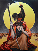 Religious Art Paintings - Denial by Jeremiah Welsh