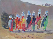 Tim Houghton - Desert Women of Rajasthan