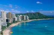 Afternoon Prints - Diamond Head And Waikiki Print by William Waterfall - Printscapes