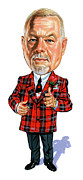 Hockey Paintings - Don Cherry by Art  