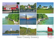 Peter L Wyatt - Door County Scenery 1 - Poster