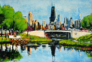Robert Reeves - Downtown Chicago from Lincoln Park