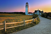 Thomas Schoeller - Dusk at Cape Cod Lighthouse