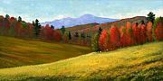 Featured Paintings - Early October by Frank Wilson