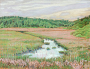 Farm Pastels - Edge of Itasca by David Bratzel