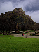 Princes Prints - Edinburgh Castle Print by Jeff Stein