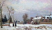 Camille Pissarro - Effects of Snow