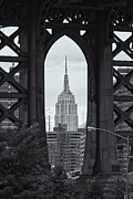 Clarence Holmes - Empire State Building Framed