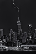 Clarence Holmes - Empire State Building Lightning Strike...