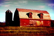 Emily Stauring - Evening Barn