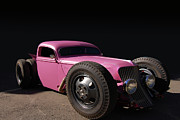 Pink Hot Rod Photos - Fairy Truck by Bill Dutting
