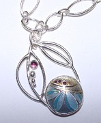 Original Design Jewelry - Falling Leaves by Beverly Fox