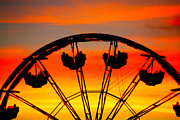 Cheryl Young - Ferris Wheel Sunset
