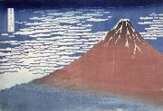 Hokusai - Fine weather with South wind