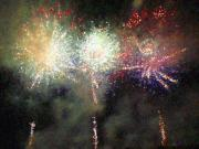 Dawn Hay - Fire Works Show Stippled...