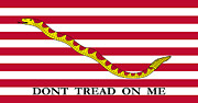 Patriot Mixed Media - First Navy Jack by War Is Hell Store