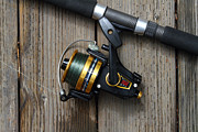 Wingsdomain Art and Photography - Fishing Rod and Reel . 7D13542