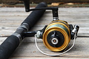 Wingsdomain Art and Photography - Fishing Rod and Reel . 7D13547