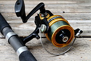 Wingsdomain Art and Photography - Fishing Rod and Reel . 7D13549