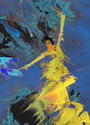 Dance Paintings - Flamenco Luna by Miki De Goodaboom