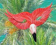 Lizi Beard-Ward - Flamingo Mask 2