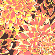 Beautiful Posters - Floral Abstraction 18 Poster by Sumit Mehndiratta