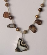 Original Design Jewelry - Florida Fossil Coral by Beverly Fox