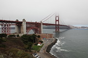 Wingsdomain Art and Photography - Fog At The San Francisco Golden Gate...