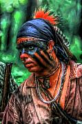 Randy Steele - French and Indian War Indian Warrior