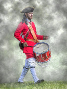 Randy Steele - French Army Drummer Fort Ligonier...