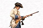 Randy Steele - French Soldier Reloading Musket