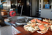 Wingsdomain Art and Photography - Fresh Cooked Crabs At Fishermans Wharf...