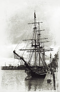 Tall Ships Prints - From the Past Print by Maria Aiello