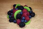Raspberry Photo Originals - Fruit Mixture 2 by Michael Waters