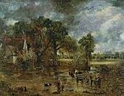 John Constable - Full scale study for