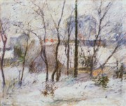 Paul Gauguin - Garden under Snow